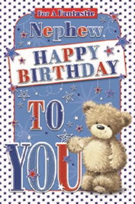 3D Nephew Birthday Card(C)