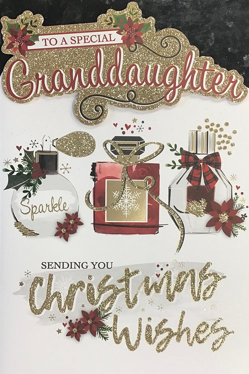 Granddaughter Christmas Card