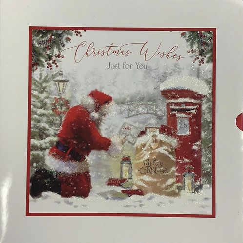 10 Premium Inserted Christmas Cards