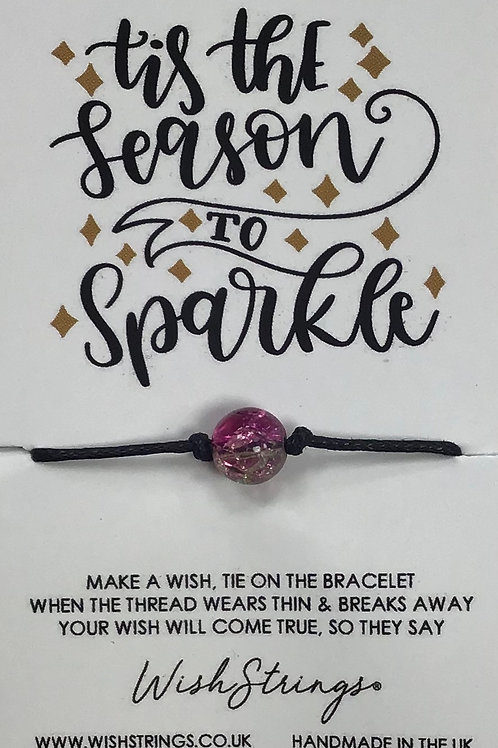 Tis The Season To Sparkle WishString