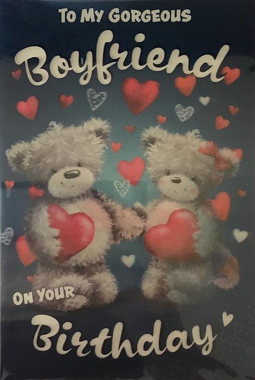 3D Boyfriend Birthday Card