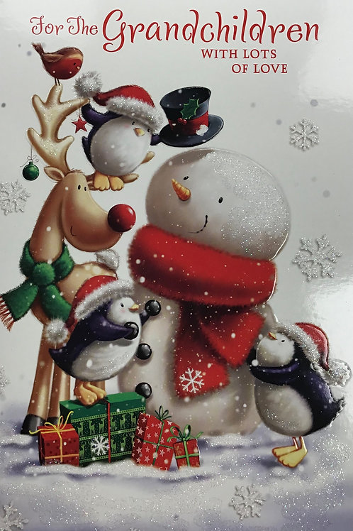 Grandchildren Christmas Card