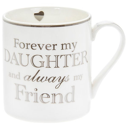 Heart To Home Mug Forever My Daughter