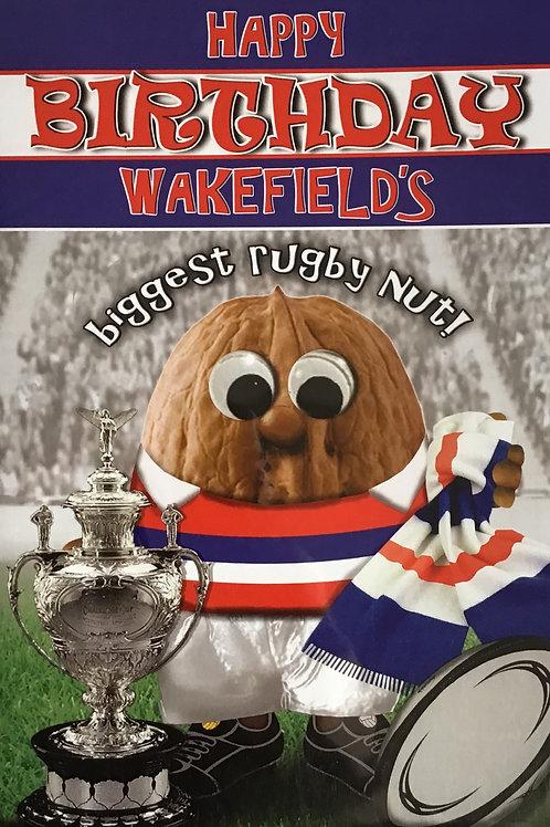Wakefield's Biggest Rugby  Nut