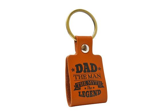 Dads The Man Keyring