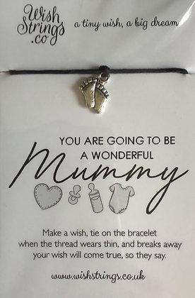 Becoming A Mummy WishString
