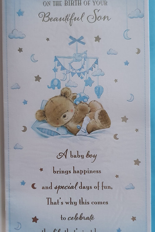 Birth of your Son Card