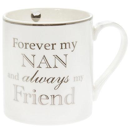 Heart To Home Mug Forever My Nan