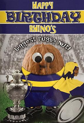 Rhino's Biggest Rugby  Nut