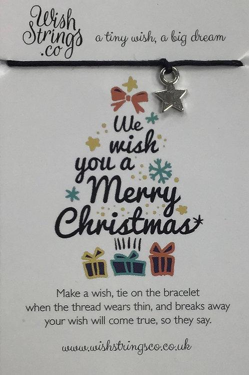 Merry Christmas Tree WishString