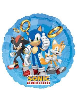 "Sonic The Hedgehog 17"" Foil Balloon (Deflated)"