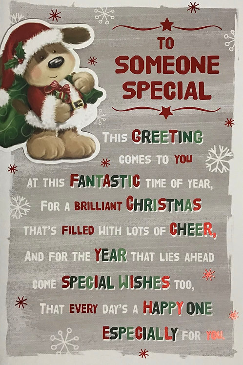 Someone Special Christmas Card