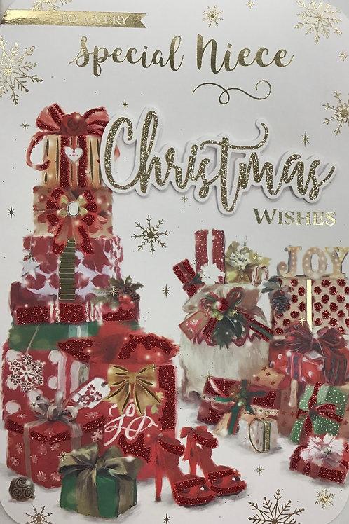 Niece Christmas Card