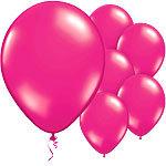 "11"" Latex Balloons Fab Fuchsia Pink"