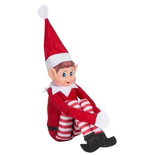 "12"" Boy Naughty Elf"