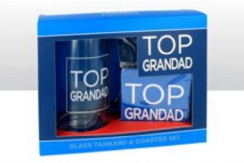 Top Grandad Pint Pot & Coaster Set