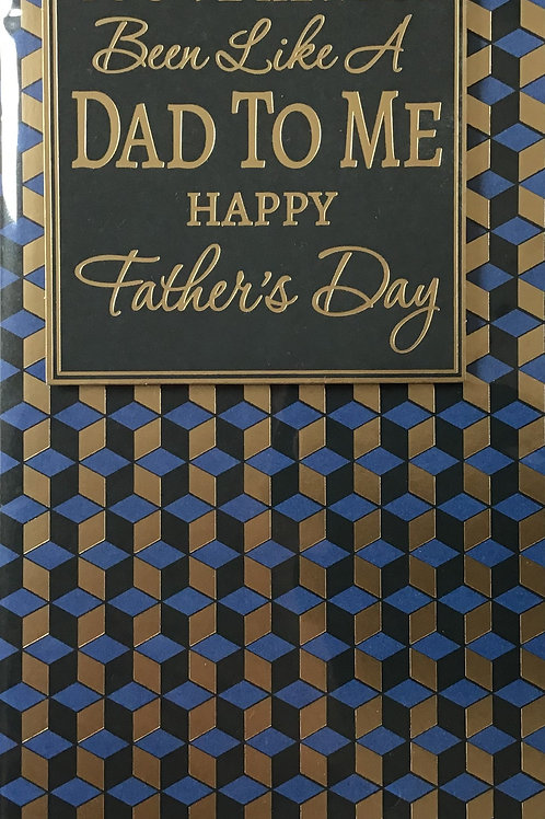 Like A Dad Father's Day Card