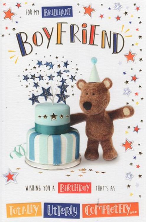 Boyfriend Birthday Card - Barley