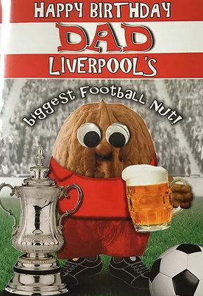 (Dad) Liverpool Biggest Football Nut
