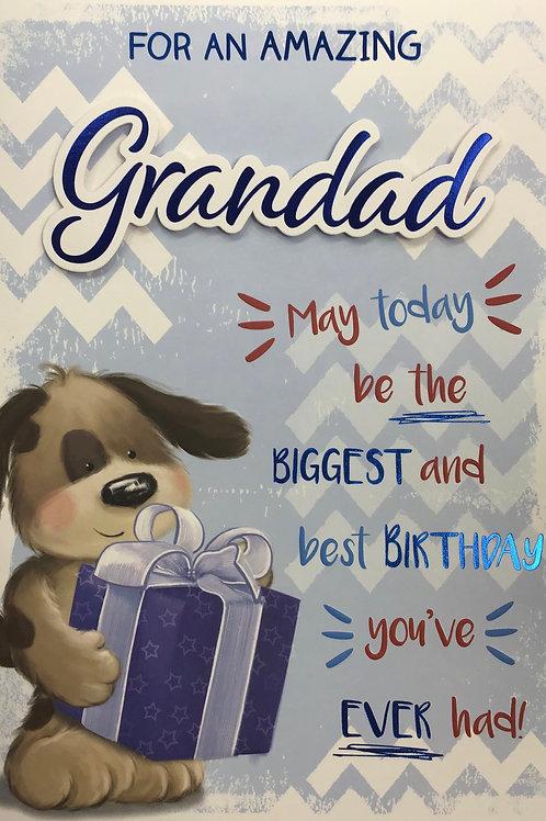 Grandad Birthday Card (Lge)