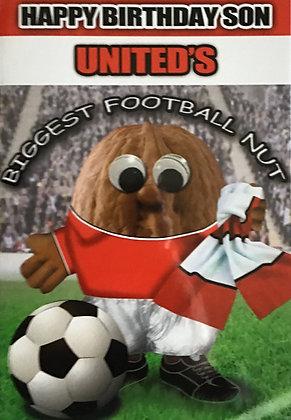 (Son) United's Biggest Football Nut