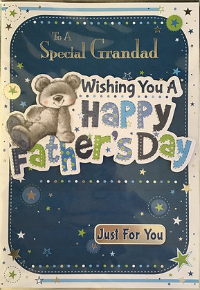 Grandad Father's Day Card (Lge)