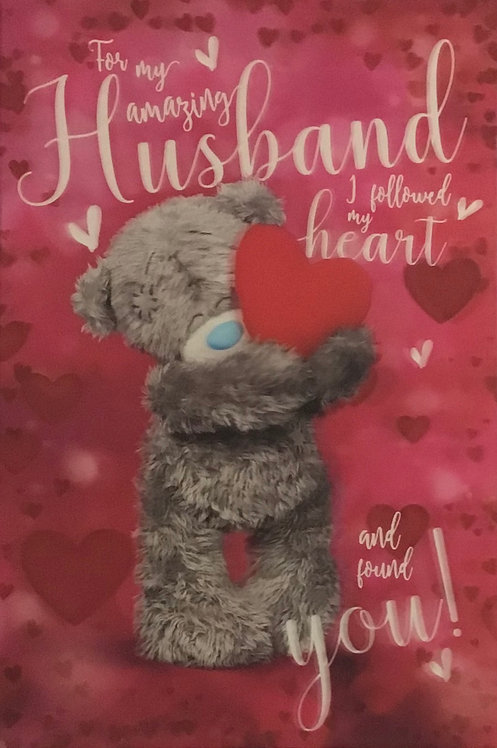 3D Me To You Husband Valentines Card