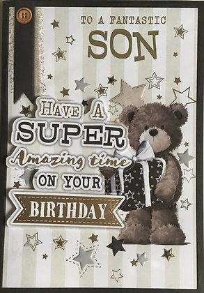 Son Birthday Card (Lge)
