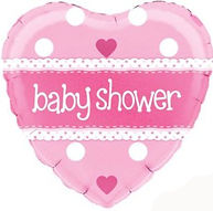 Pink Baby Shower Balloon