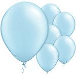 "11"" Latex Balloons Light Blue"