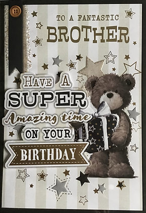 Brother Birthday Card (Lge)