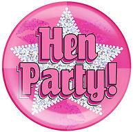 Hen Party Jumbo Badge