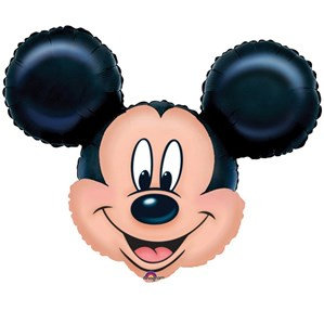 """Mickey Mouse Supershape 27"""" Foil Balloon (Deflated)"""