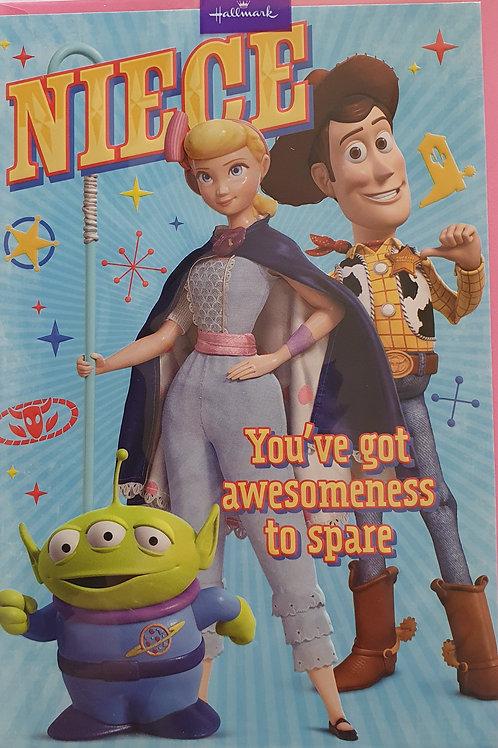 Niece Toy Story Birthday Card
