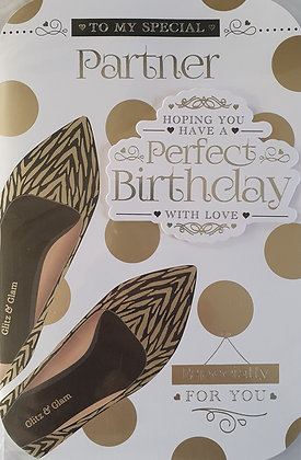 Partner Birthday Card