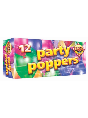 24 Party Poppers