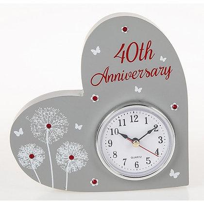 Celebration Clock 40th Anniversary