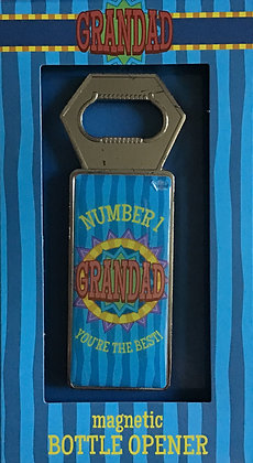 Number 1 Grandad Magnetic Bottle Opener