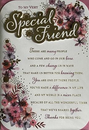 Friend Birthday Card (Lge)