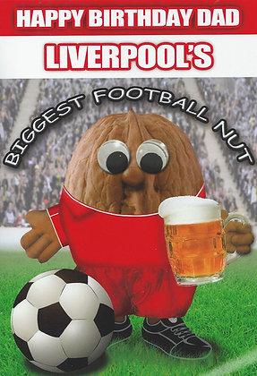 (Dad) Liverpool's Biggest Football Nut