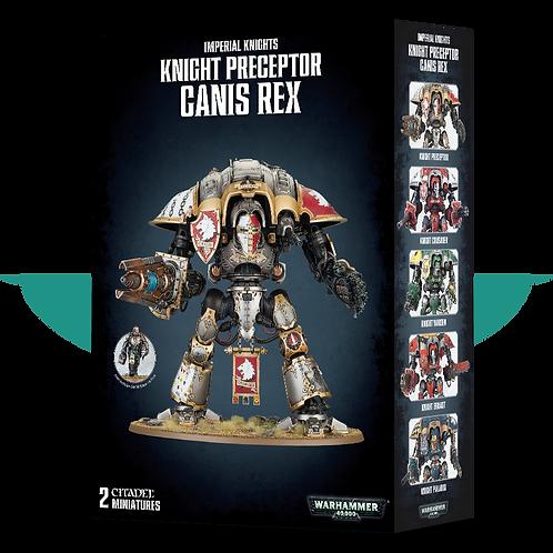 Knight Preceptor Canis Rex