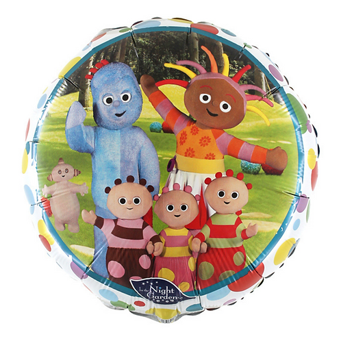 "In The Night Garden 18"" Foil Balloon (Deflated)"