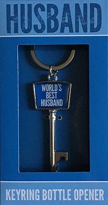 World's Best Husband Keyring
