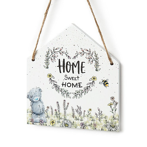 Me To You Home Sweet Home Hanging Plaque