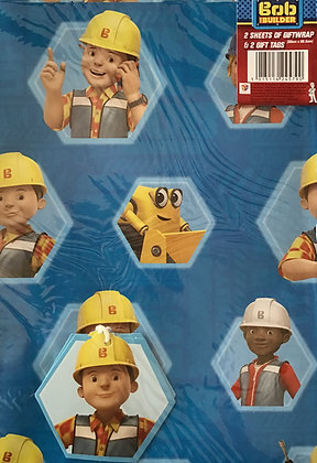 Bob The Builder Gift Wrap Pack