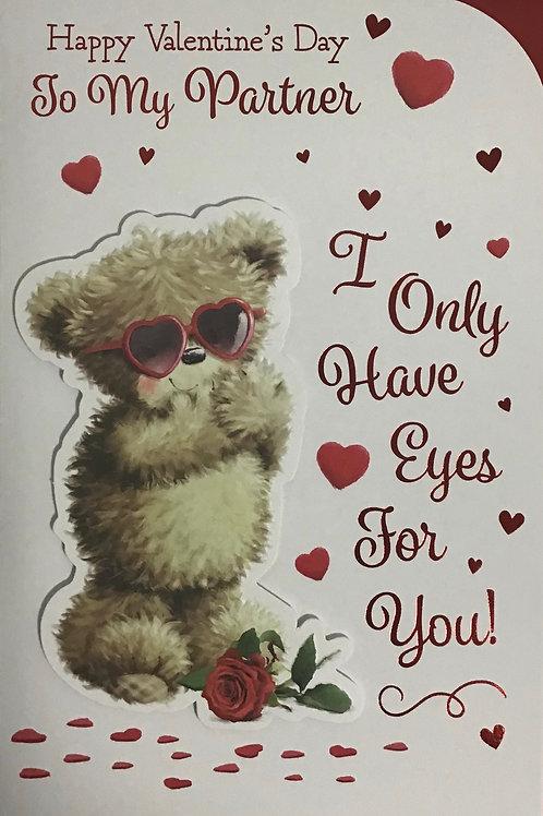 Partner Valentines Card