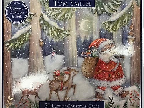 Tom Smith 20 Luxury Christmas Cards