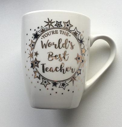 You're The World's Best Teacher Mug