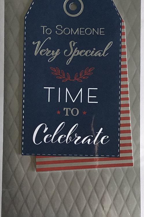 Someone Special Birthday Card