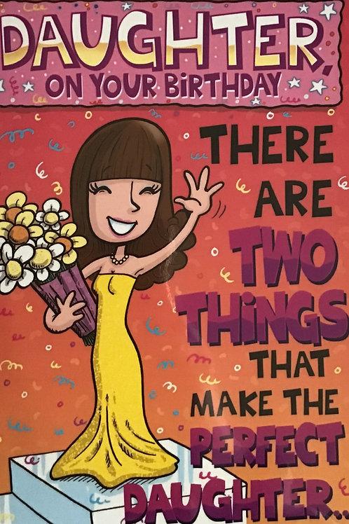 Daughter Joke Birthday Card